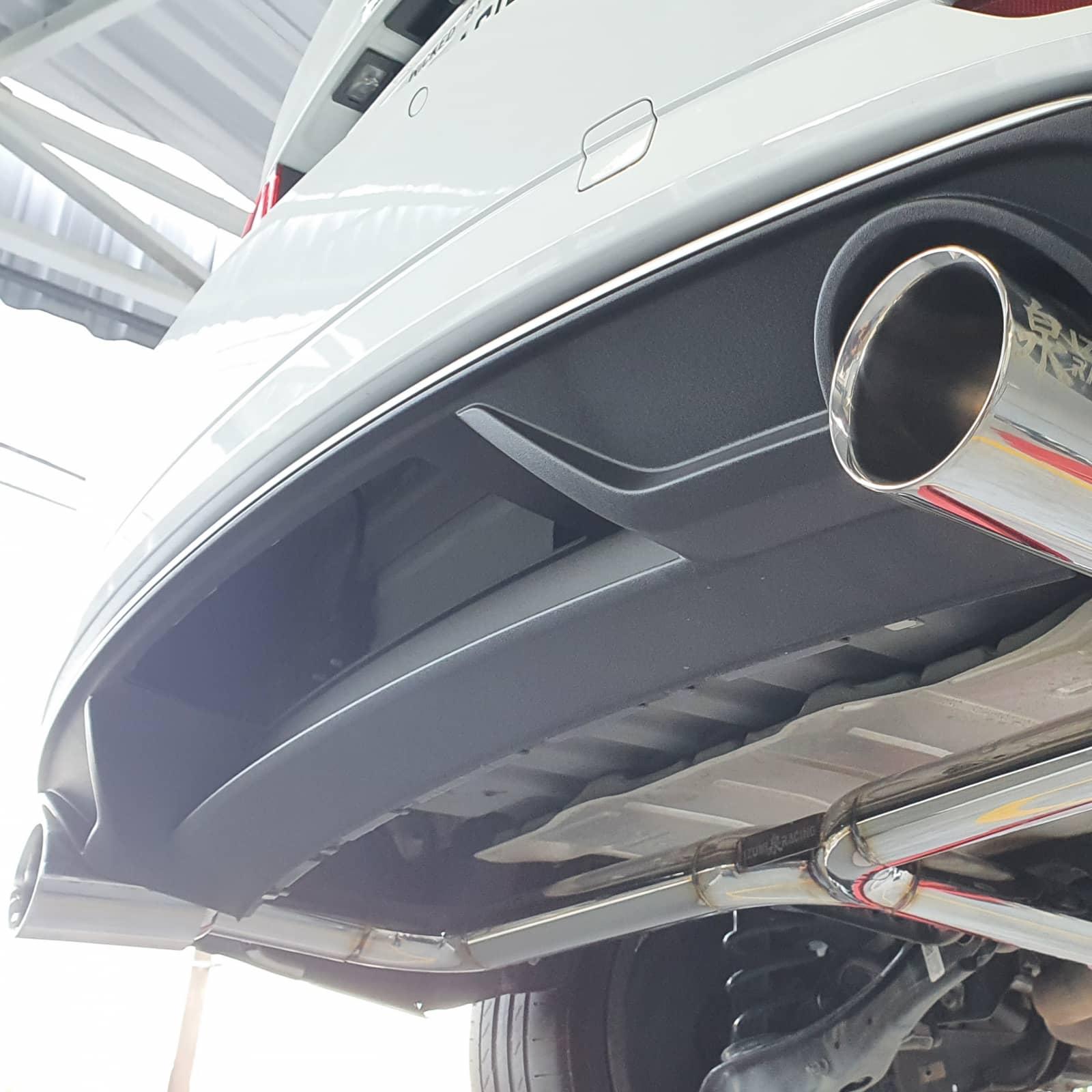 Eliminador traseiro Audi A3 Sedan