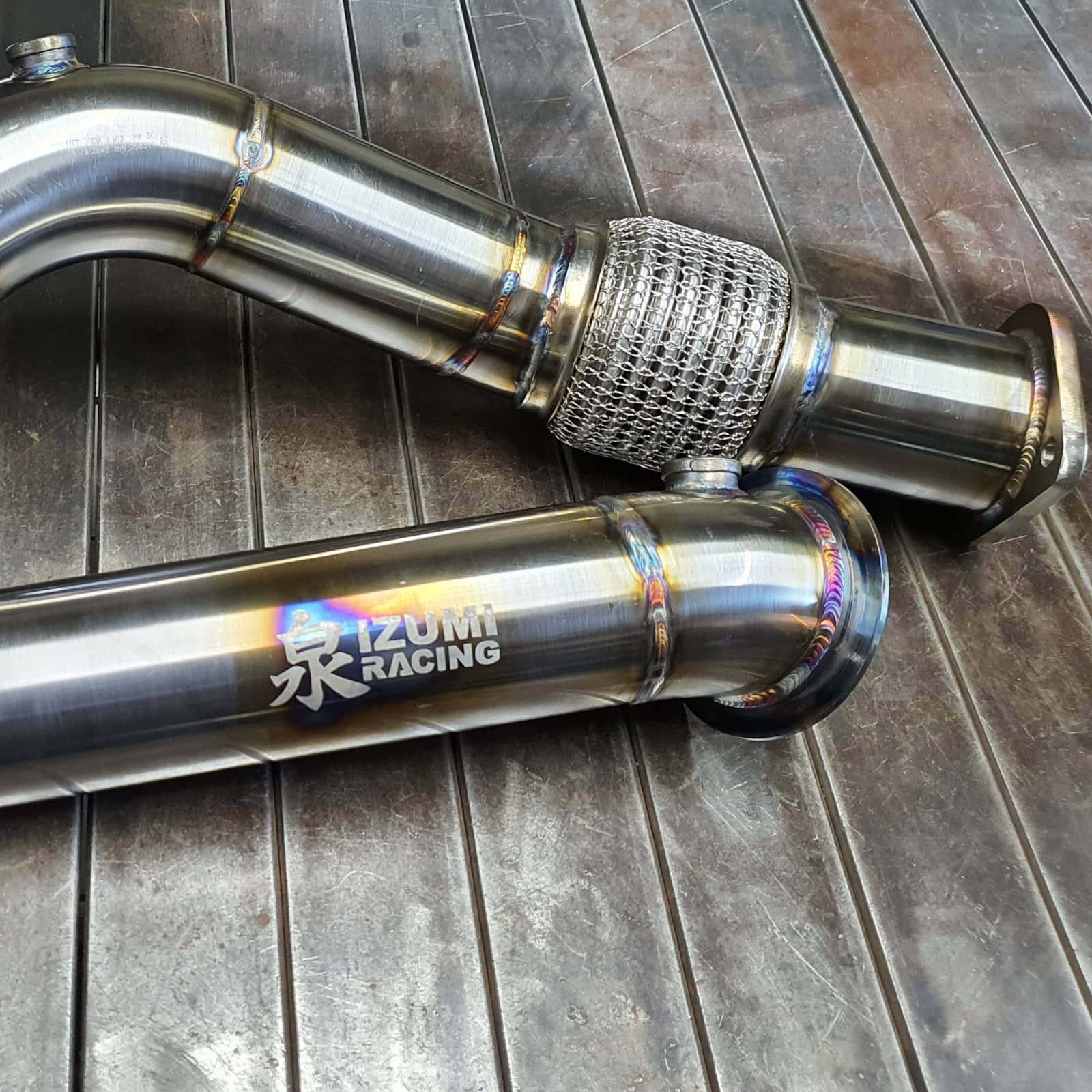 Downpipe BMW X3 M Competition