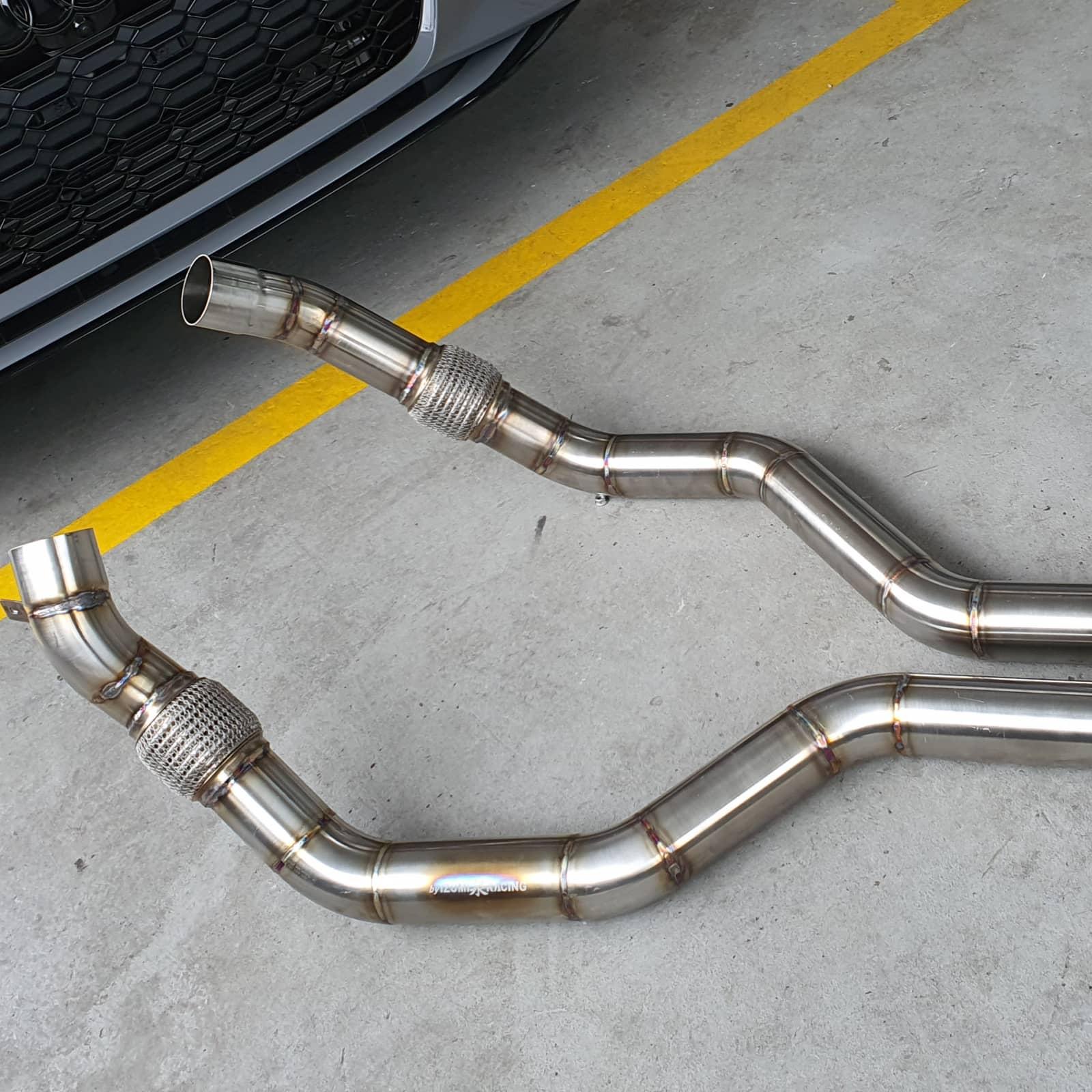 Midpipes Audi RS6