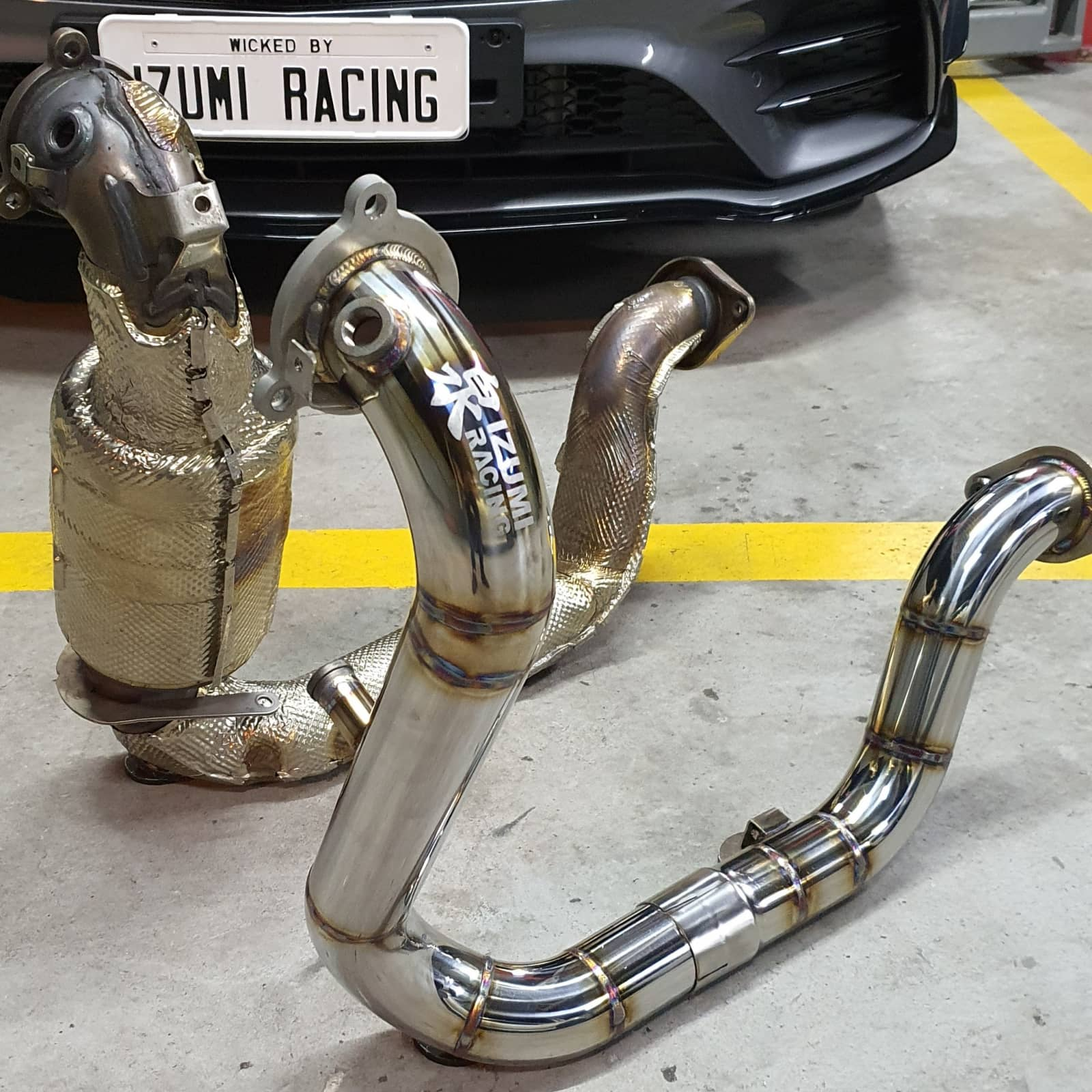 Downpipe Mercedes A35 AMG